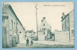 0816  CPA  VER  (Oise)   Carrefour Des Fermes  -  EPICERIE VINS LIQUEURS  ++++++++++++++++++++ - Autres Communes
