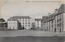 29)  BREST  -  La Cour Du Chateau Caserne Du 19 E Régiment De Ligne - Brest