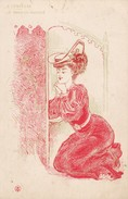 Femme Se Confessant. A CONFESSE. Le Pardon Assuré - Mujeres