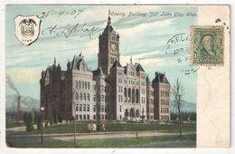 County Building, Salt Lake City, Utah - Salt Lake City