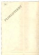 Carte D'Etat-Major - 1: 80 000 - Secteur PLOEGSTEERT - Lille - Guerre 14/18 ?? Voir Descriptif (b215) - Cartes