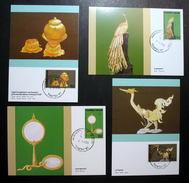 Thailand Maximum Cards 1987 THAIPEX - Thailand