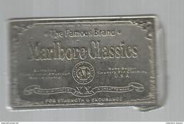 G-I-E , Tabac , Boucle De Ceinture , MARLBORO CLASSICS , 2 Scans , Frais Fr : 3.45€ - Tabac (objets Liés)