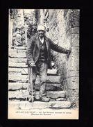 Cpa...le Lot Illustré...le Dernier Bonnet De Coton...(paysan Du Causse)...1919... - Paesani