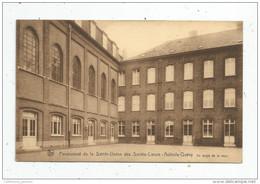 Cp ,Belgique , Pensionnat De La SAINTE UNION Des SACRES COEURS , AULNOIS , QUEVY , Voyagée 1931 - Quévy