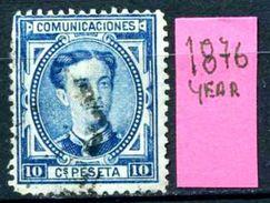SPAGNA - Year 1876 - Usato - Used - Utilisè - Gebraucht. - 1875-1882 Regno: Alfonso XII