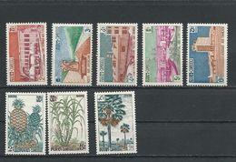 CAMBODGE Scott 101-105, 112-114 Yvert 114-118, 125-127 (8) * Cote 6,10 $ 1961-2 - Cambodge
