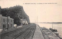 ¤¤  -  MAUVES   -  Le Coteau, La Voie Ferrée Et La Loire    -  ¤¤ - Mauves-sur-Loire