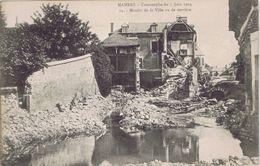 72 - Mamers (Sarthe) - Catastrophe Du 7 Juin 1904 - Moulin De La Ville Vu De Derrière - Mamers