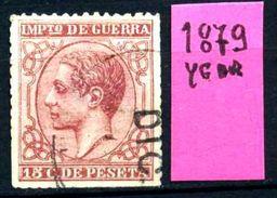 SPAGNA - Year 1879 - Usato - Used - Utilisè - Gebraucht. - 1875-1882 Regno: Alfonso XII