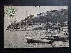 CPA - 1905 - RARE- MONACO - CANOTS AUTOMOBILES DANS LE PORT - BATEAU - R8705 - Port