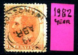 SPAGNA - Year 1882 - Usato - Used - Utilisè - Gebraucht. - 1875-1882 Regno: Alfonso XII