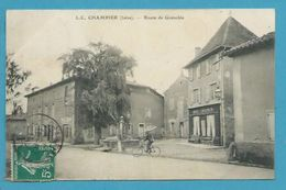 CPA - Route De Grenoble CHAMPIER 38 - Sonstige Gemeinden