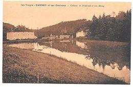 88 - Les Vosges - DARNEY Et Ses Environs - Château De Droiteval Et Son Etang - Ed. Combier - Sépia - Darney