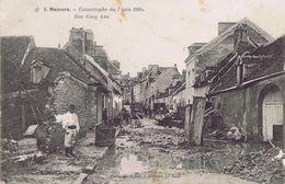72 - Mamers (Sarthe) - Catastrophe Du 7 Juin 1904 - Rue Cinq Ans - Mamers