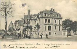 PIE 17-AR-9099 : METZ. LE NOUVEAU QUARTIER AU REMPART SAINT-THIEBAULT - Metz