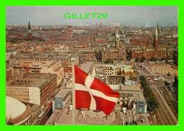 COPENHAGUE, DANEMARK - VUE DE LA VILLE - VIEW OVER COPENHAGEN - FLY SAS - - Danemark