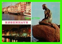 COPENHAGUE, DANEMARK - 3 MULTIVUES - FLY SAS - - Danemark