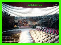 HELSINKI, FINLANDE - TEMPPELIAUKIO CHURCH - - Finlande