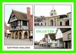 SAFFRON WALDEN, ESSEX - THREE VIEWS OF THE CITY - HALCYON OF BUSHEY - - Angleterre