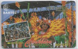 BARBADOS - CROP OVER '95 - 87CBDA - Barbados