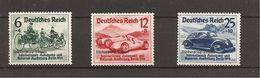 Deutsches Reich Mi.Nr.695-97 Nürnburgring ** (280.-) - Nuevos