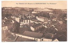 """88 - Vue Générale De La Brasserie De NEUFCHATEAU """"La Renaissance"""" - Photo Mallet - Sépia - Neufchateau"""