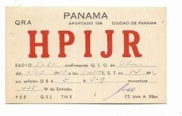 QSL RADIO - HPIJR PANAMA   1950 - Radio