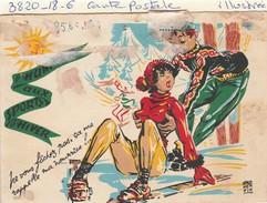 Ne Vous Facher Pas, ça Me Rappelle Ma Nourice   (signe Fromentin) - Contemporain (à Partir De 1950)