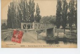 BOEN SUR LIGNON - Pont Du Chemin De Fer Départemental Sur Le Lignon - Altri Comuni