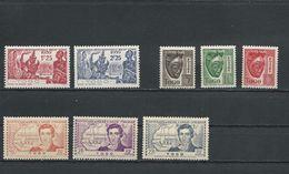 TOGO Scott 268-269, 265-267, J31A-J31C  Yvert 175-176, 172-174, Taxe 22-24 (8) ** Cote 4,75 $ 1941-2 - Togo (1914-1960)