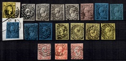 Saxe Belle Petite Collection De Classiques 1851/1863. Bonnes Valeurs. A Saisir! - Saxony