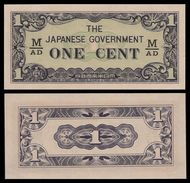 Malaya 1 CENT Japonese Govt ND 1942 P M1b UNC  (MALAISIE) - Malaysia