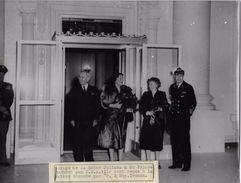 USA / LA REINE JULIANA RECUE PAR LE PRESIDENT TRUMAN  / PHOTO ORIGINALE KEYSTONE ANNEES 47.55 - Beroemde Personen