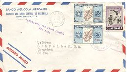 Guatemala, 4.9.1950, Airmail Cover To Switzerland, See Scans! - Guatemala