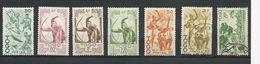 TOGO Scott 311-316, 324  Yvert 238, 239, 240, 241, 242, 243,251 (7) **, * , O Cote 4,25$ - Togo (1914-1960)