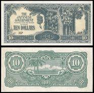 Malaya 10 DOLLARS ND 1942 P M7b UNC (MALAISIE) - Malaysia