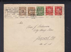 Dt. Reich Brief 1924 Dresden Nach USA - Deutschland