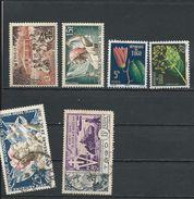 TOGO Scott 331, 332, 348-9, C19, C21  Yvert  259, 260, 276-7, PA22, PA24 (6) * Et O Cote 11,00$ - Togo (1914-1960)
