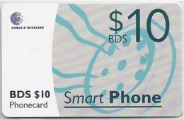 BARBADOS - SMART PHONE 10 - CHIP RED - Barbados