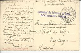 Internement Des Prisonniers De Guerre Beatenberg- Suisse - Marcophilie (Lettres)