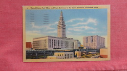 Post Office & Train Entrance To Union StationOhio > Cleveland  Ref 2730 - Cleveland