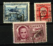 1524-España Nº 689, 741 Y 992 - 1931-50 Usati