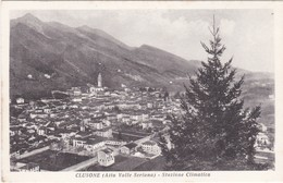 CARTOLINA - POSTCARD - BERGAMO -  CLUSONE - ALTA VALLE  SERIANA - STAZIONE CLIMATICA - Bergamo