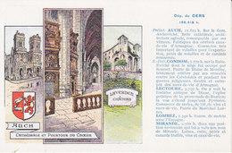 Auch Et Département Du Gers ,carte Des Pastilles Valda , 2 Scans - Auch