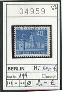 Berlin - Germany - Michel 149  -  Oo Oblit. Used Gebruikt - [5] Berlino