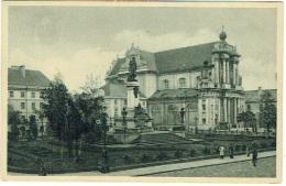 Warszawa. Varsovie. Monument Mickiewicz Et Eglise Des Carmélites. - Polonia