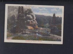Romania PPC Fire At Moreni Oil Well - Rumänien