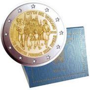 CITTA' DEL VATICANO  - 2012 - 2€ - Incontro Mondiale Delle Famiglie - In Folder DUE EURO IN FOLDER ORIGINALE - FDC - Vaticano