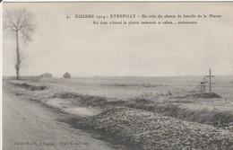 CPA : ETREPILLY  Un Coin Du Champ De Bataille De La Marne - France